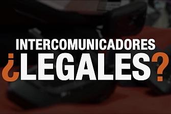 Intercomunicador Moto Legal